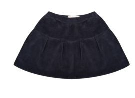Little Indians: Skirt Velours - Total Eclipse