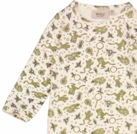 Wheat: Jumpsuit Theis - eggshell frogs