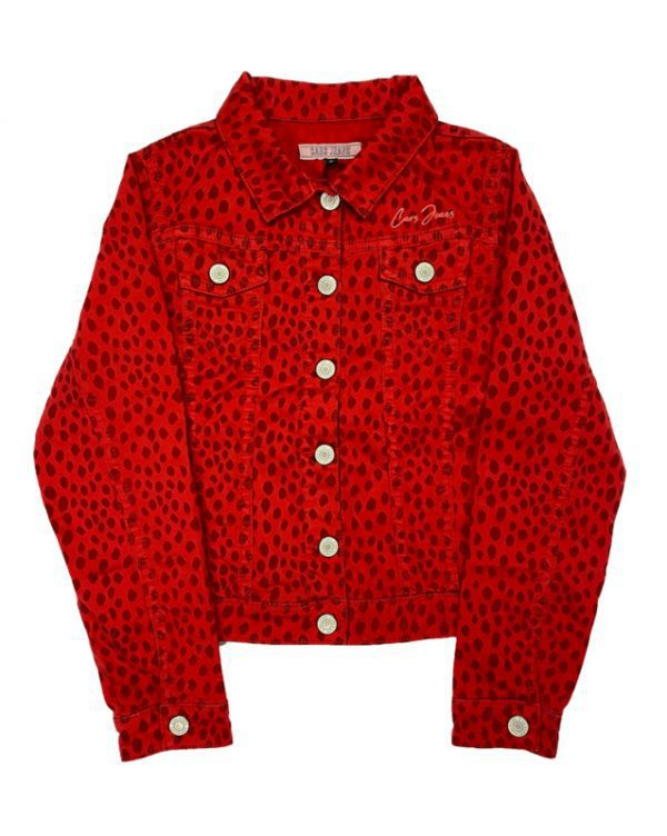Cars Jeans: Jacket - All over print red