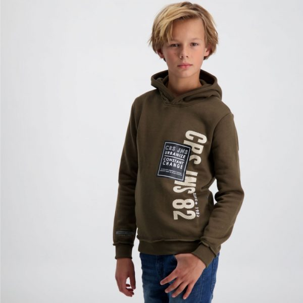 Cars Jeans: Ludley Hoodie - Army