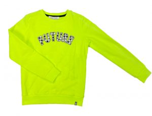 Cars jeans: Sweater 'Future'- Lime