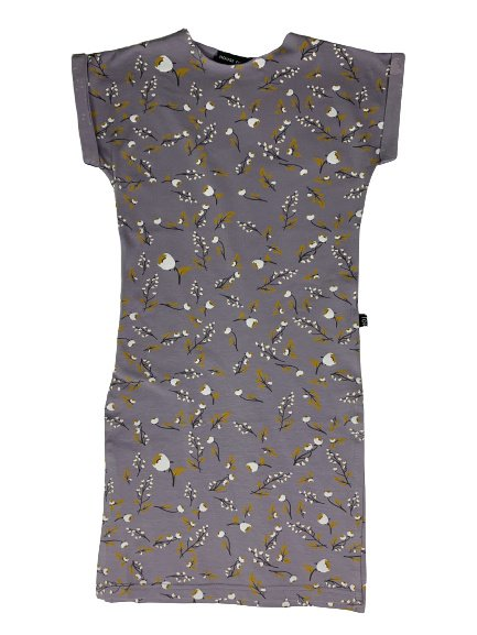 House of Jamie: Maxi dress - Floral-Dusty Lilac
