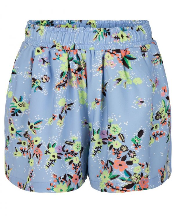 Indian Blue Jeans: Loose shorts Flower Print