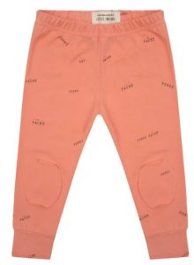 Little Indians: Legging Blooming Dahua- funny faces pink