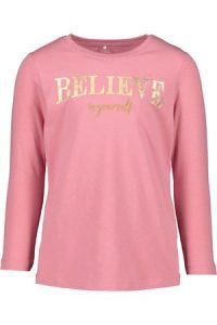 Name it: LS top Naola 'Believe in yourself' - Pink