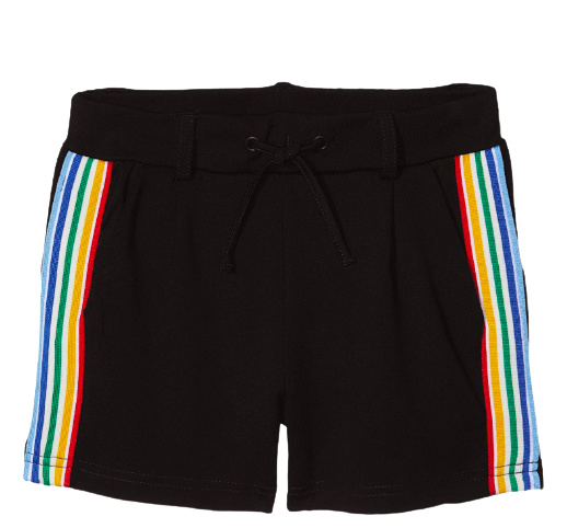 name it: Shorts with tape black