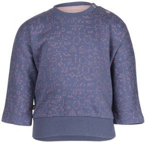Noeser: Belle batwing with seam Blue/Pink