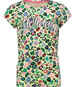 Vingino: Meisjes T-Shirt Pilly - Neon Lime