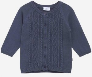 Hust&Claire: Cardigan Cammie blauw