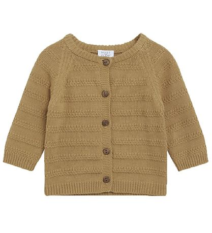 Hust & Claire: Christoffer cardigan bruin