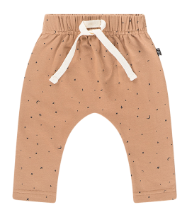House of Jamie: Baby pants - Little Stars Mocca