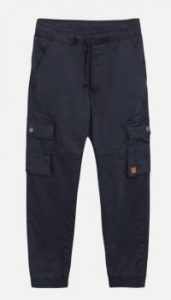 Hust and Claire: Terry Cargo pants - Navy