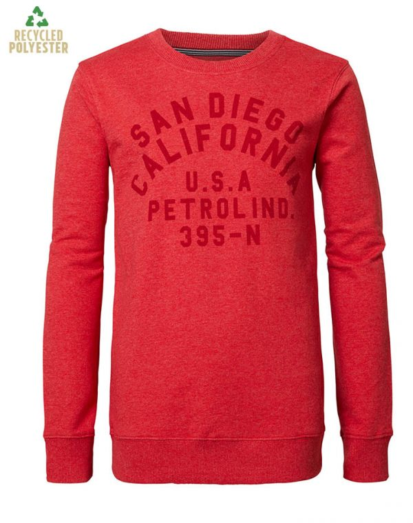 Petrol Industries: Sweater Classic Red